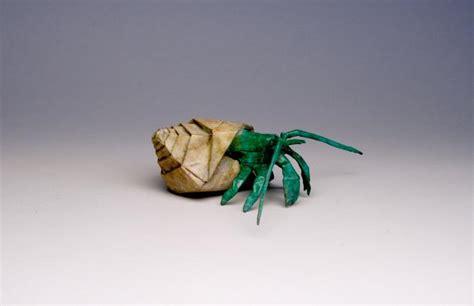 Hermit Crab Origami - hermit crab robert j lang origami