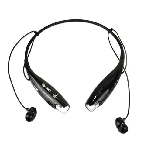Headset Via Bluetooth Wireless Bluetooth Handfree Sport Stereo Headset Headphone