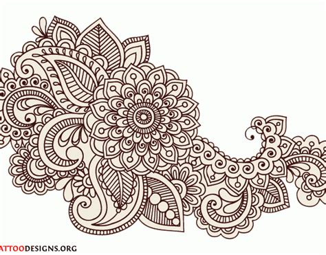 simple henna design drawing mehndi designs drawings 21 600x470 gif 600 215 470