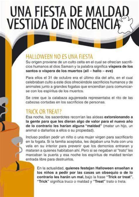 imagenes de halloween cristianas una fiesta de maldad vestida de inocencia