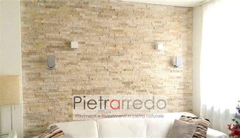 rivestimento parete soggiorno rivestimento pietra travertino soggiorno parete offerte