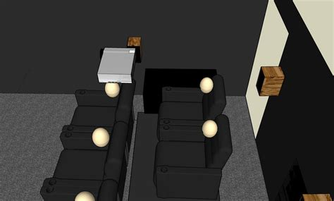subwoofer placement  seating  wall avs forum