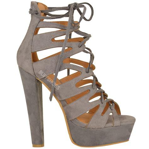 gladiator high heel shoes new womens high heel platform gladiator sandals