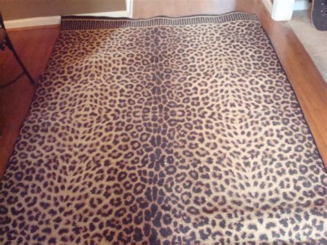 Leopard Print Area Rugs Leopard Print Area Rug Large In Graduating S Garage Sale