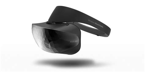 Vr Asus Microsoft Reveals Dell And Asus Vr Headset Designs