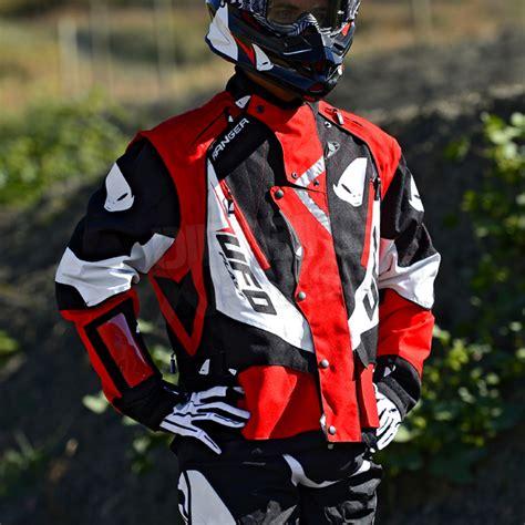 ufo motocross gear ufo ranger enduro jacket blue motocross waterproof