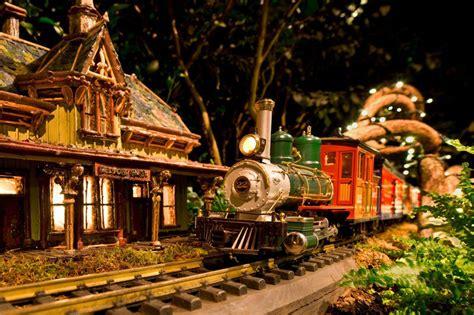trains at botanical gardens new york botanical garden celebrates 125th anniversary