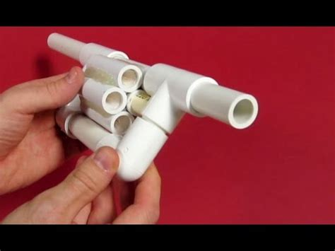 Miniatur Pistol Sniper Steel 20 made diy pvc toys you can make for your kids as a