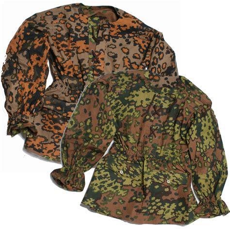 leaf pattern camouflage german elite full spring oak leaf camo suit