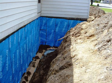 sealing a basement basement waterproofing sealing exterior basement walls