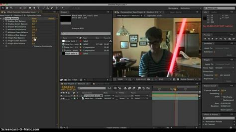 tutorial after effect youtube after effects cs6 tutorial lightsaber effect youtube