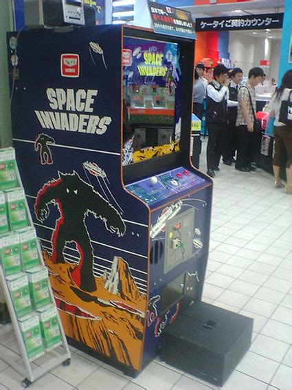 Space Invaders Cabinet by Arcade Space Invaders