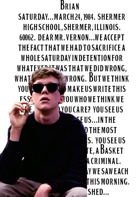 quotes from breakfast club quotes from the breakfast club www imgkid the