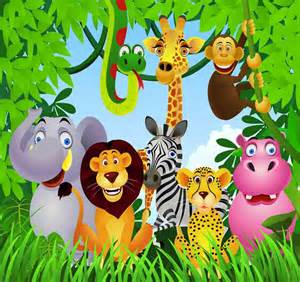 Wall Stickers For Baby Room jungle theme wallpaper for kids wallpapersafari