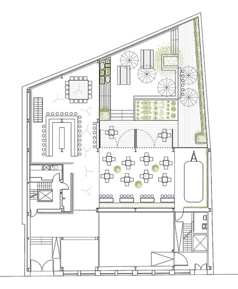 layout de planta de cafe gallery of 48 urban garden ak a 13