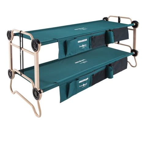 disc o bed disc o bed cam o bunk large bunk bed cot with organizers