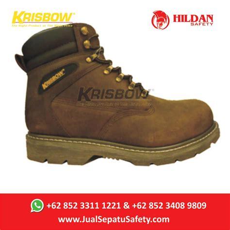 Sepatu Merk Connexion jual sepatu safety merk krisbow vulcan brown cokelat 6