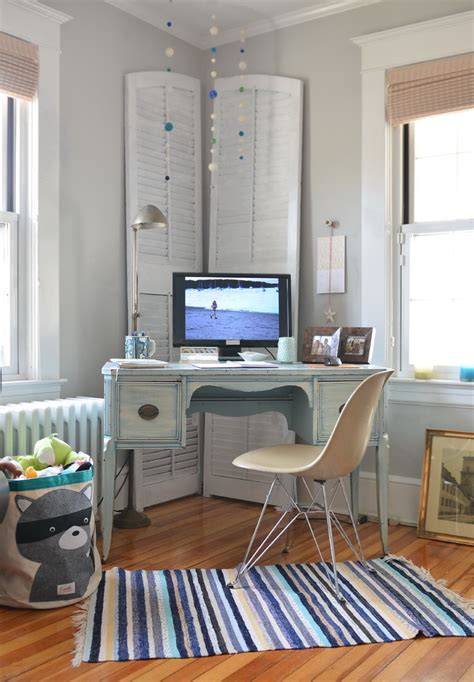Home Office Decor Ideas Fresh Surprising Shutter Table L Yellow Wash Decorating Ideas Images In Home Office Contemporary