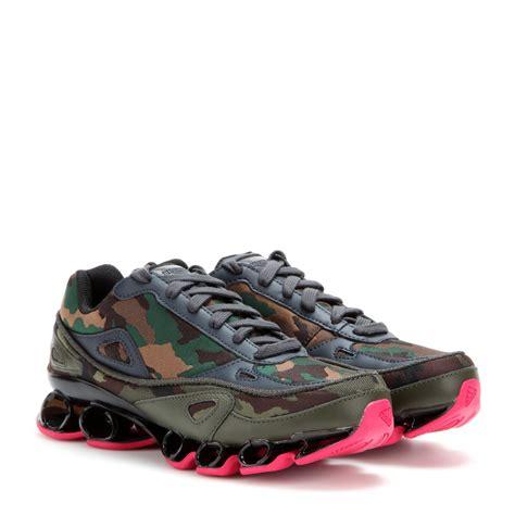 raf simons adidas sneakers adidas by raf simons bounce camouflage jacquard sneakers
