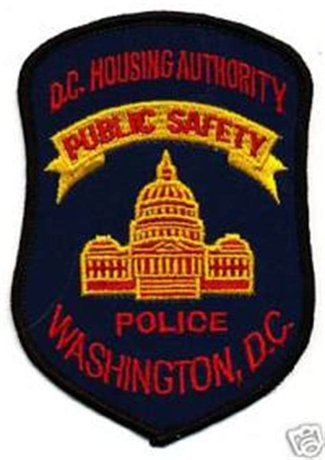 dc housing authority police ben s patch collection