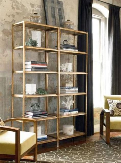 ikea vittsj 214 shelving unit painted gold living dining