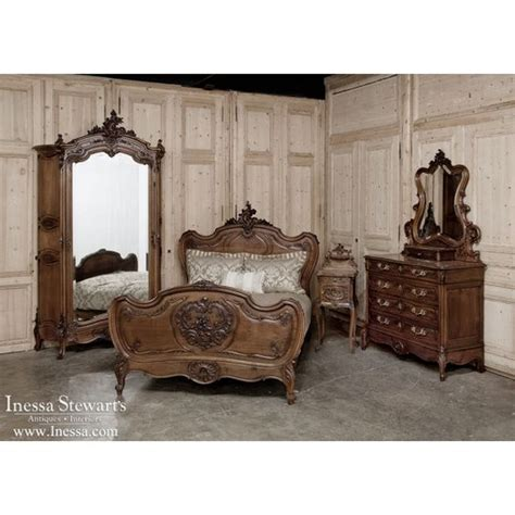 Rococo Bedroom Furniture Antique Bedroom Furniture 19th Century Rococo Louis Xv Style Bedroom Set Www Inessa