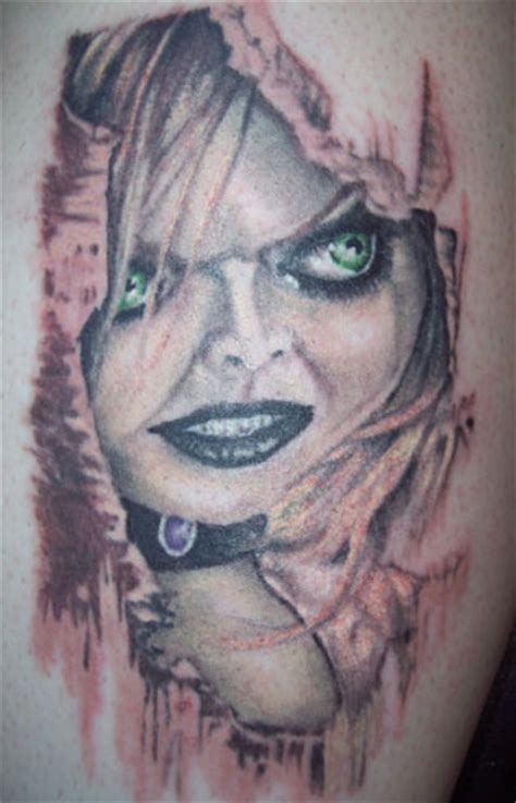 bride of chucky tattoo brides of chucky and tattoos and on
