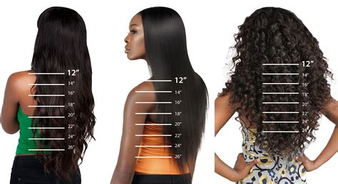 12 Inch Weave Length Hairstyle Pictures   length guide khairmax