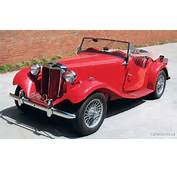 1950 MG TD Roadsterwe Had A White 51learned To Drive On It