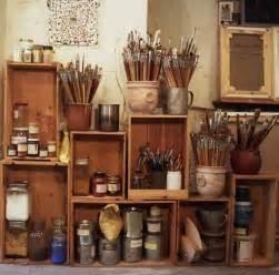 Clever Desk Ideas 25 best ideas about art studio organization on pinterest