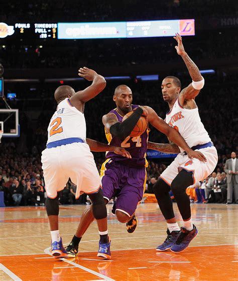 Topi Los Angeles Lakers New 1 j r smith photos photos los angeles lakers v new york knicks zimbio