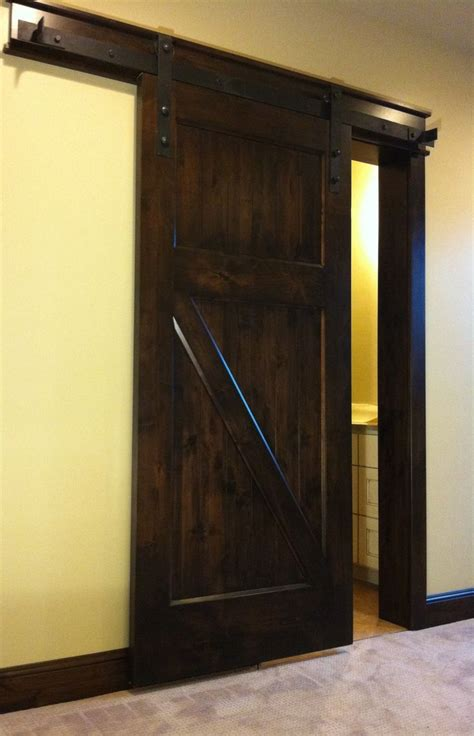 interior sliding barn door for the home