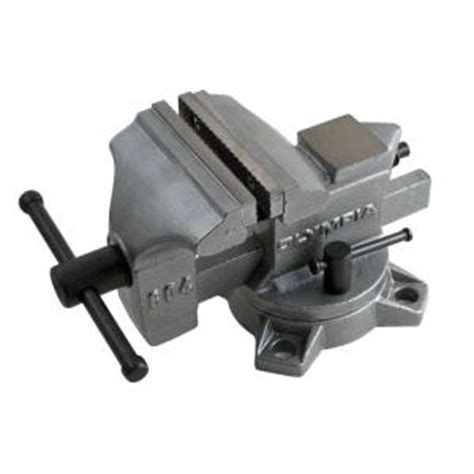 bench vise home depot olympia 4 in bench vise 38 604 the home depot