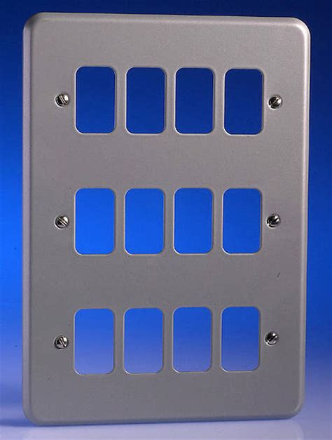 Saklar Grid Switch 12 12 alum surface grid plate