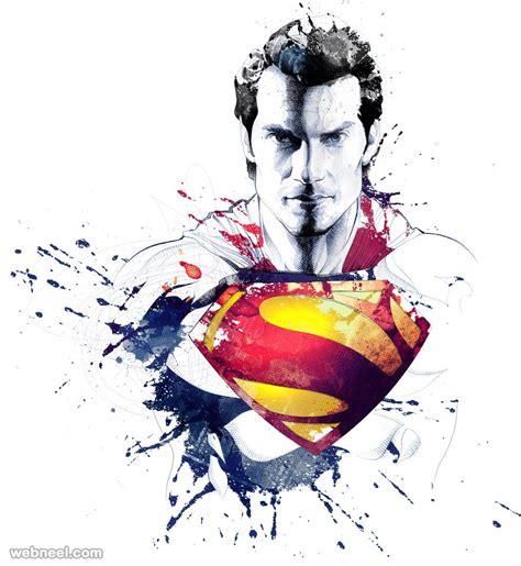 painting superman superman creative by david despau 1