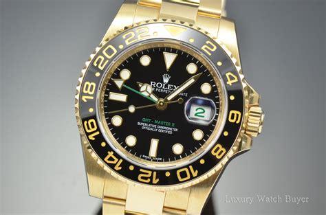 Rolex Gmt Master Ll Ceramic All Gold 2015 mens rolex gmt master ii ceramic black index 18k yellow gold oyster bracelet