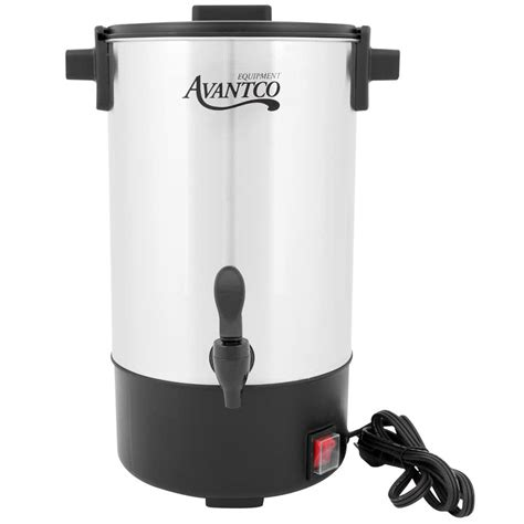 Coffee Urn avantco cu30 30 cup 1 1 gallon stainless steel coffee urn