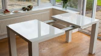 extendable glass dining table nz images
