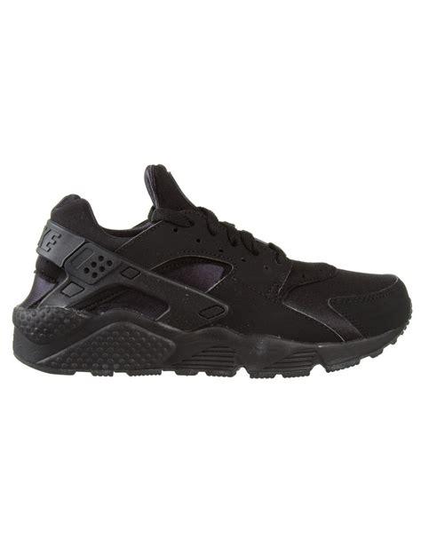 black huarache shoes nike air huarache shoes black trainers from