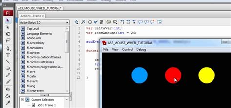 tutorial in flash how to program mouse wheel events in flash actionscript 3