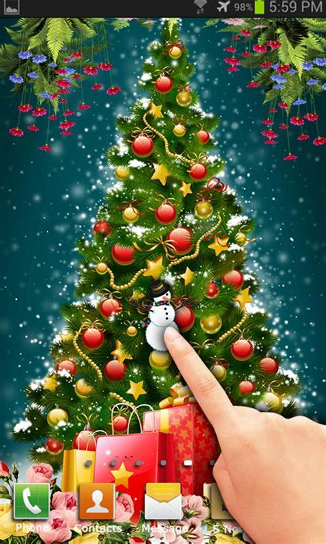 download cheismas live wallpaper for jpeg santa live wallpaper gallery