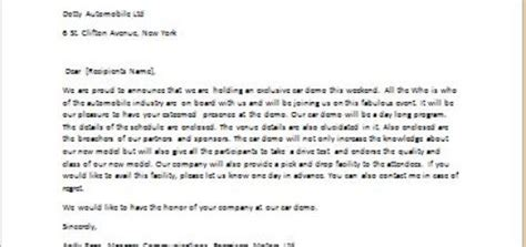 Letter Demo letter accepting an invitation to business meeting