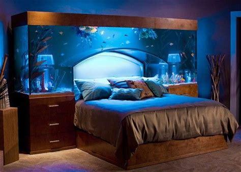 Aquarium Headboard by Bed Custom Aquarium Headboard Gizmos Gadgets What The