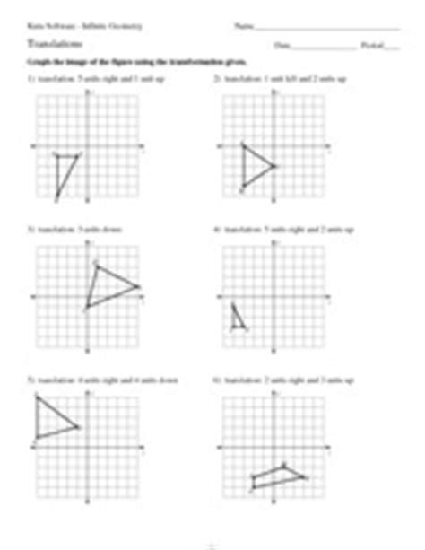 Dilations Worksheet Kuta by Math Algebra Bassett High Course