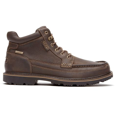 rockport boots gentlemen s waterproof mid moc boot s boots rockport 174