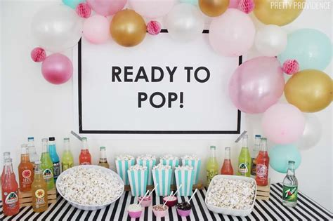 Popcorn Baby Shower Theme by Ready To Pop Baby Shower Ideas Pretty Providence