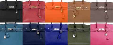 hermes color the 10 most popular herm 232 s birkin colors bags