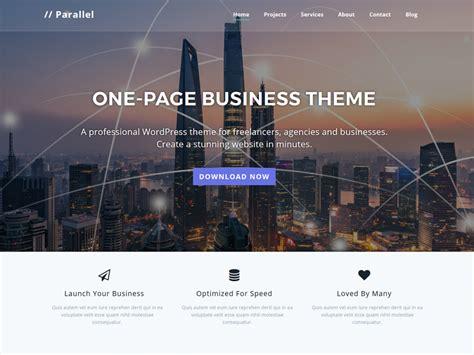 yoo themes wordpress free download parallel one page multipurpose business wordpress theme