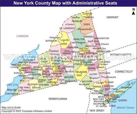 map us new new york counties map