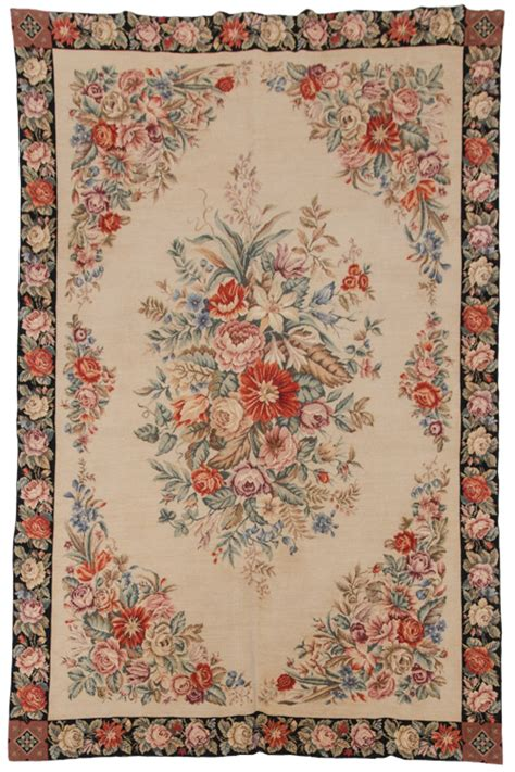 Needlepoint Rugs For Sale by 6x 9 Antique Design Needlepoint Rug Rug Warehouse